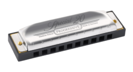 The Hohner Special 20 harmonica - Country Tuning