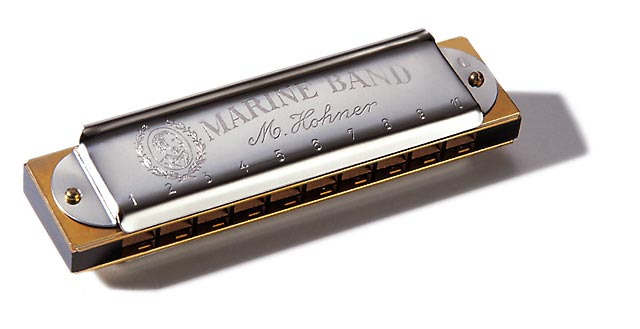 Hohner Marine Band Full Concert - The Harmonica Company