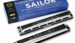 Seydel Sailor Steel Tremolo Harmonica