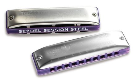 Seydel Session Steel Summer Edition 2017 Mouth Organ