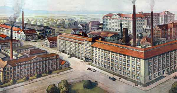 Hohner Factory in the 1920s