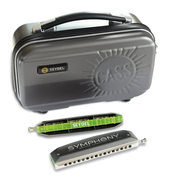 Seydel Symphony ACRYL Grand Chromatic case