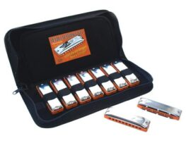 Seydel Blues Session Steel Harmonica Set 9