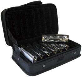 Hohner Blues Band - 7 Harmonica Set With Case
